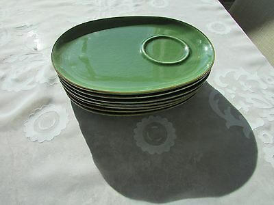 Ikea green snack plates