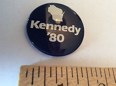 Wisconsin Democrats for Change Ted Kennedy 1980 Presidential pinback