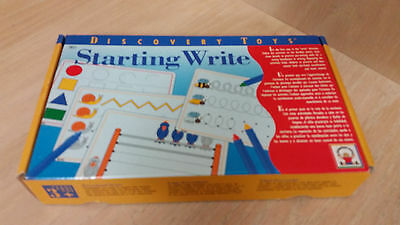 Discovery Toys: Starting Write, Learn Pre-Writing Preschool Activity Boards Set