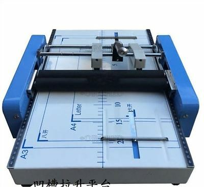Electric A3 Binding And Folding Machine Staple Nail Binder Folder T