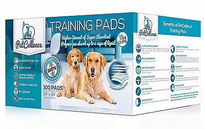 Puppy Dog Training Pads Toilet Wee Pee Mats Cats Extra Large 60 x 60 cm 50/100