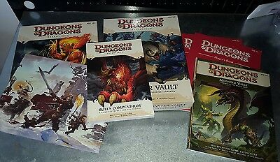 Dungeons and Dragons 4th Edition lot