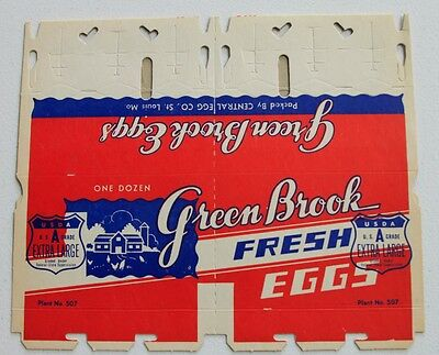 Vintage Egg Cartons Lot of 4