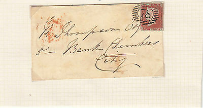 1852 Queen Victoria Cover From London South East To London City