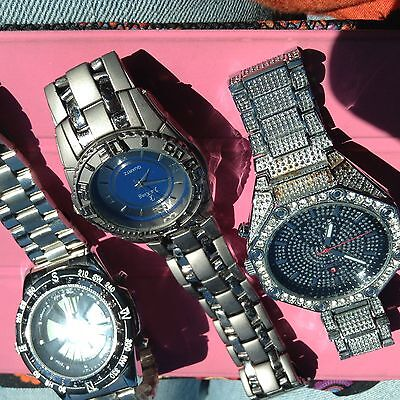 Lot of three mens watches