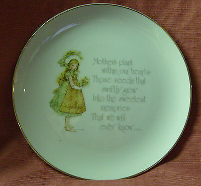 Holly Hobbie Large Plate