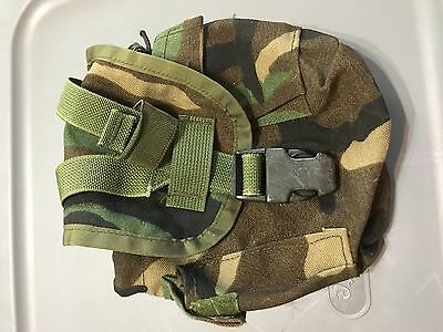 1 Quart Woodland MOLLE II Utility Dump Pouch Canteen Carrier Military Army USMC