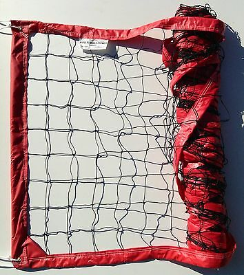 Power Outdoor Volleyball Net w/ Twisted Rope Cable - VNPW VNPW.R