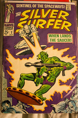 Marvel Comics Silver Surfer - silver age LOT