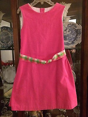 Chabre Hot Pink Corduroy Jumper Size 6x