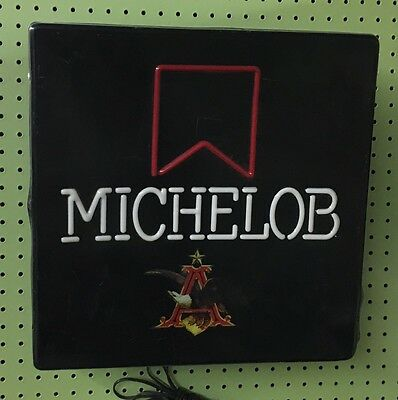 Vintage Michelob Lighted Neon Type Beer Bar Sign