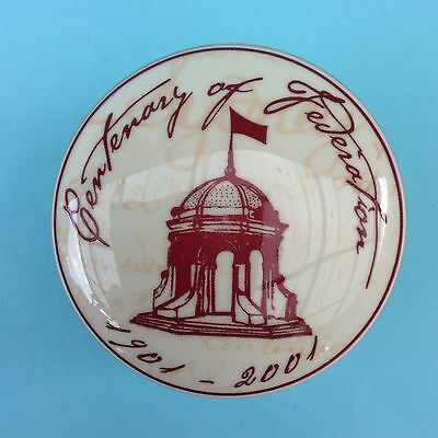 CENTENARY OF FEDERATION 1901-2001 WEDGWOOD ROTUNDA COLLECTION Trinket Box LtdEd