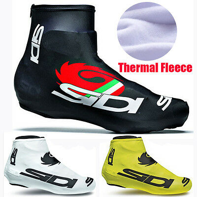 Winter Fleece Thermal Bicycle Cycling Overshoes MTB Bike Cycling Shoes Cover New