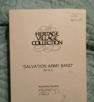 Department 56 Salvation Army Band