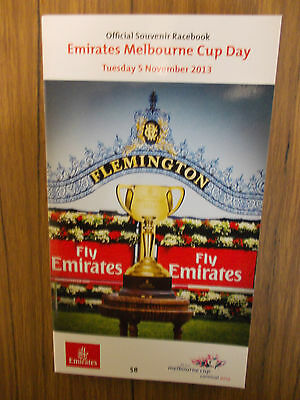 Melbourne Cup 2013 Racebook  *new*  Never Used