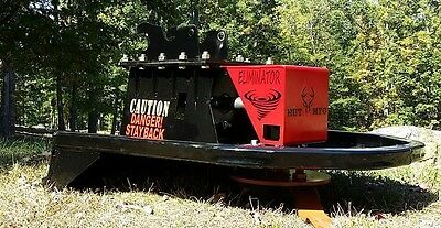 "36"" Brush Eliminator Mini EXCAVATOR Cutter Mower mulcher USA made  FREE SHIP"