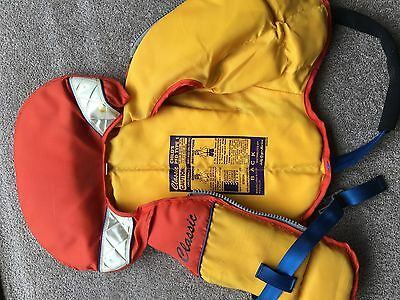 life jacket childs 12kg to 25kg PFD type 1