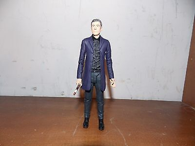 Doctor Who - Peter Capaldi 12th Twelfth Dr Figure +Sonic Screwdriver - 13 Dr Set