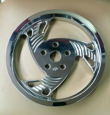 Chrome Harley Rear Belt Pulley 71 Tooth