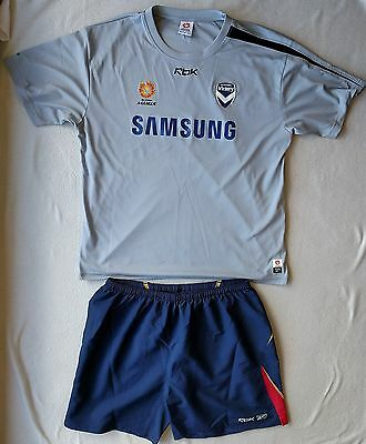 Reebok A-League Melbourne Victory Shorts and Top Size XXL
