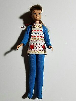 The World of Love LOVE JUMPER Hippie Outfit Hasbro 1971 MOD! FITS SKIPPER