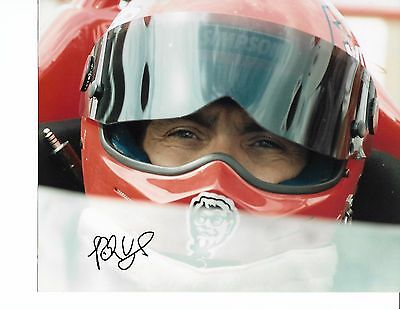 USAC IndyCar Racing  Photograph Autographed by the late Rich Vogler