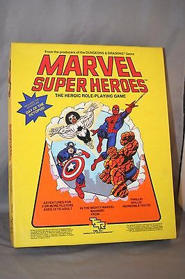 Marvel Super Heroes The Heroic Role- Playing Game by TSR #6850