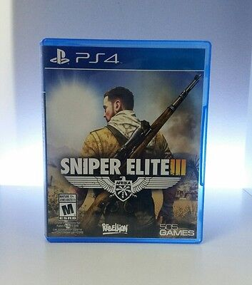 Sniper Elite 3 PS4 - MINT - FAST SHIPPING!