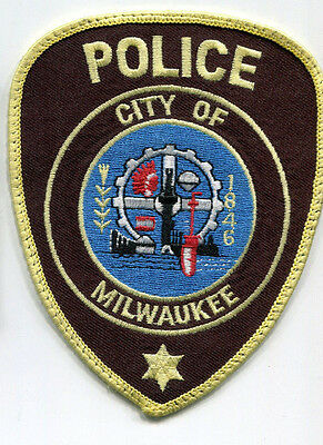 Milwaukee Wisconsin Police Patch // USED