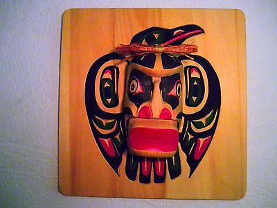 West Coast First Nations Native ART/CARVING By Hubert Billy 2016