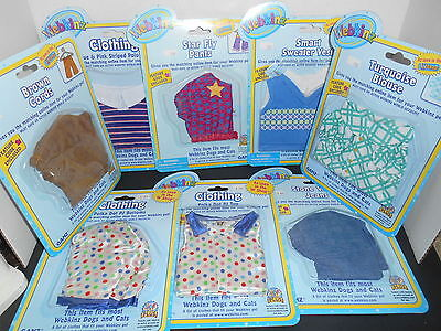 Lot of (8) Webkinz Pet Clothing For Dogs and Cats, GANZ, NIP