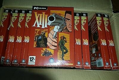 job lot new sealed pc game XIII wholesale bulk x45