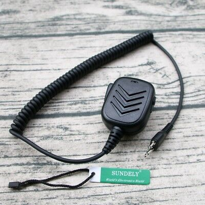 Hand Shoulder Mic Speaker For Uniden Radio UH040 UH042 UH044 UH050 UH052 UH056