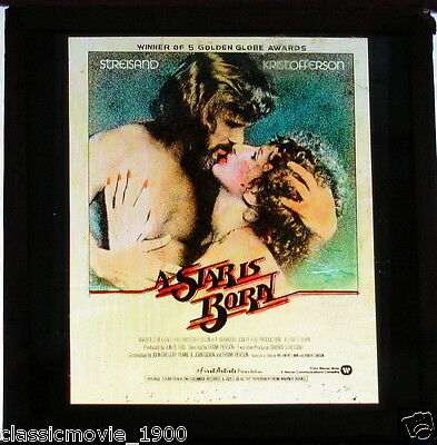 A Star Is Born Glass Slide