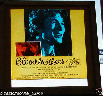 Blood Brothers Glass Slide