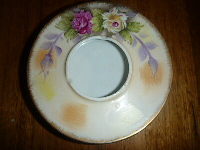 hand painted Meridian vintage ashtray made in Japan