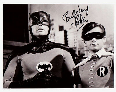 BURT WARD ~ ROBIN in BATMAN #4 ~ SIGNED 10x8 PHOTO COA