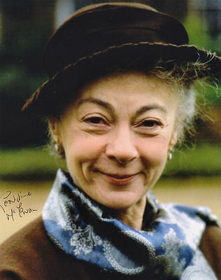 GERALDINE McEWAN ~ MARPLE ~ SIGNED 10x8 PHOTO COA