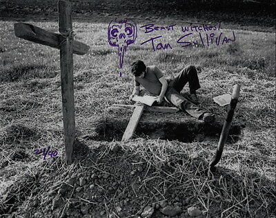 TOM SULLIVAN ~ THE EVIL DEAD & OTHER HORRORS #3 ~ SIGNED 10x8 PHOTO COA