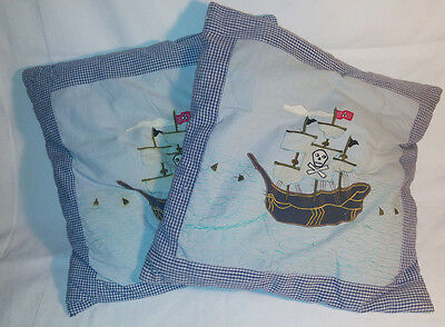 Sass & Belle pirate ship cushions