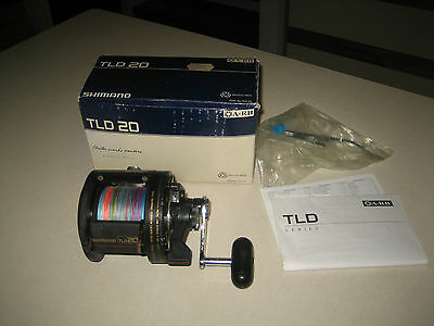 Shimano Tld20 Overhead Fishing Reel With Braid (Great) Boating, Fishing Offshore