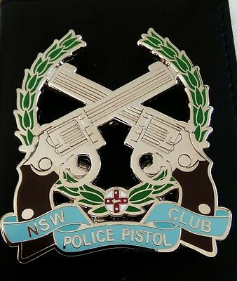 Nsw Police Pistol Club Badge