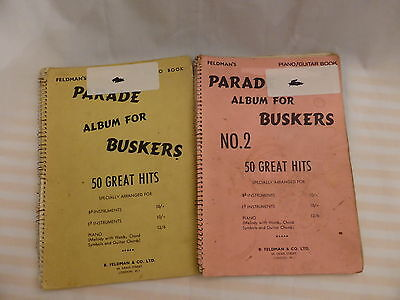 Parade Album For Buskers - 2 X 50 Great Hits - Melody, Words, Chords