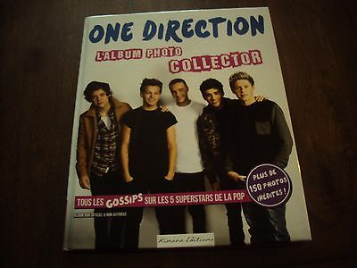 "Album photo collector ""ONE DIRECTION"" neuf"