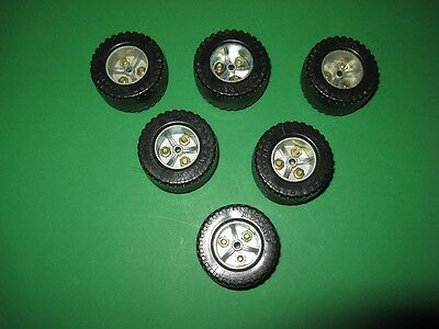 Meccano 3-part Wheels from 1978/9.  As new.
