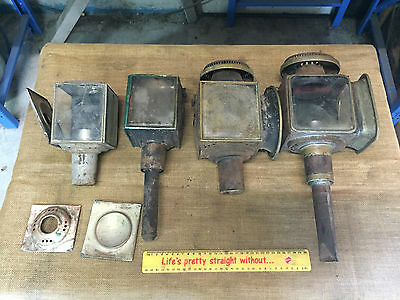 Old Antique , Coach  Lights  , Kerosene Lamps , Lanterns , Very Old ,Stage Coach