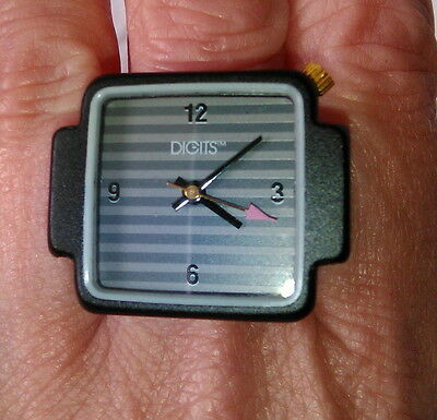 Funky Vintage 1980s DIGITS™ Finger ring watch from Bloomingdales AS NEW (Unisex)