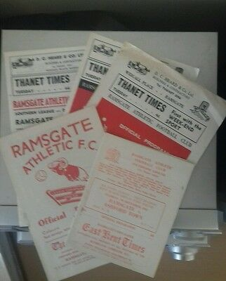 65/6 Ramsgate V Ashford   (Non League Football Programme)