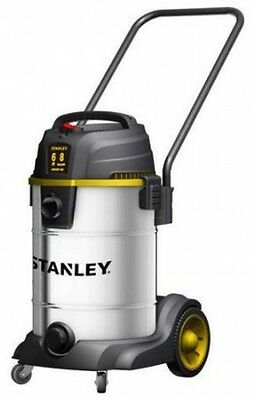 Wet/Dry Vacuum Cleaner Portable Shop Vac 8 Gallon 6 Horse Power Stainless Steel