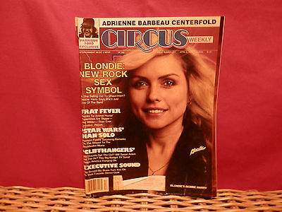 Circus Magazine (April 3, 1979) # 217 Blondie   Frat Fever   Star Wars  See Pics
